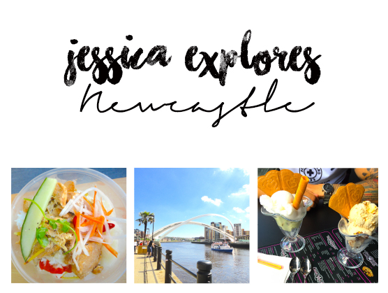 jessica explores newcastle