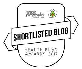 Vote for me to be Health Blogger of The Year!