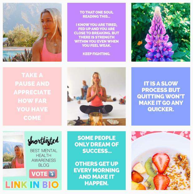 Mental Health Blogger Instagram